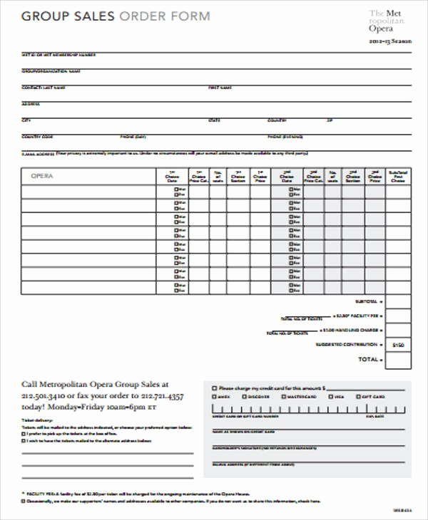 Sales order forms Templates Beautiful Sample Sales order form 11 Examples In Word Pdf