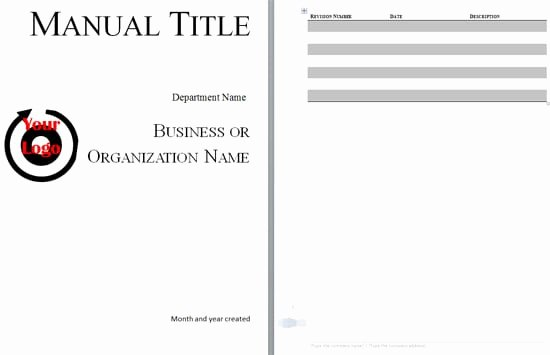 Sales Training Manual Template New 5 Training Manual Templates – Fine Word Templates
