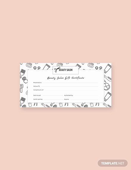 Salon Gift Certificate Template Awesome Free Spa Gift Certificate Template Download 391 Certificates In Psd Illustrator Indesign