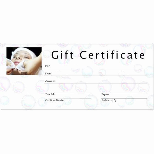 Salon Gift Certificate Template Beautiful 6 Free Printable Gift Certificate Templates for Ms Publisher