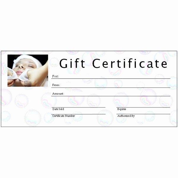 Salon Gift Certificate Template Beautiful 6 Free Printable Gift Certificate Templates for Ms Publisher