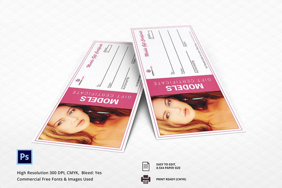 Salon Gift Certificate Template Inspirational 7 Free Gift Certificate Templates Birthday Business Spa Restaurant