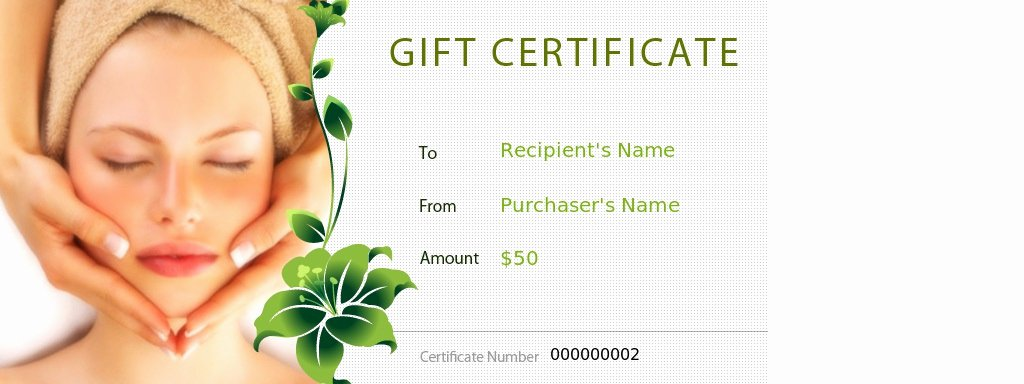 Salon Gift Certificate Template Lovely 27 Of Massage Coupon Template