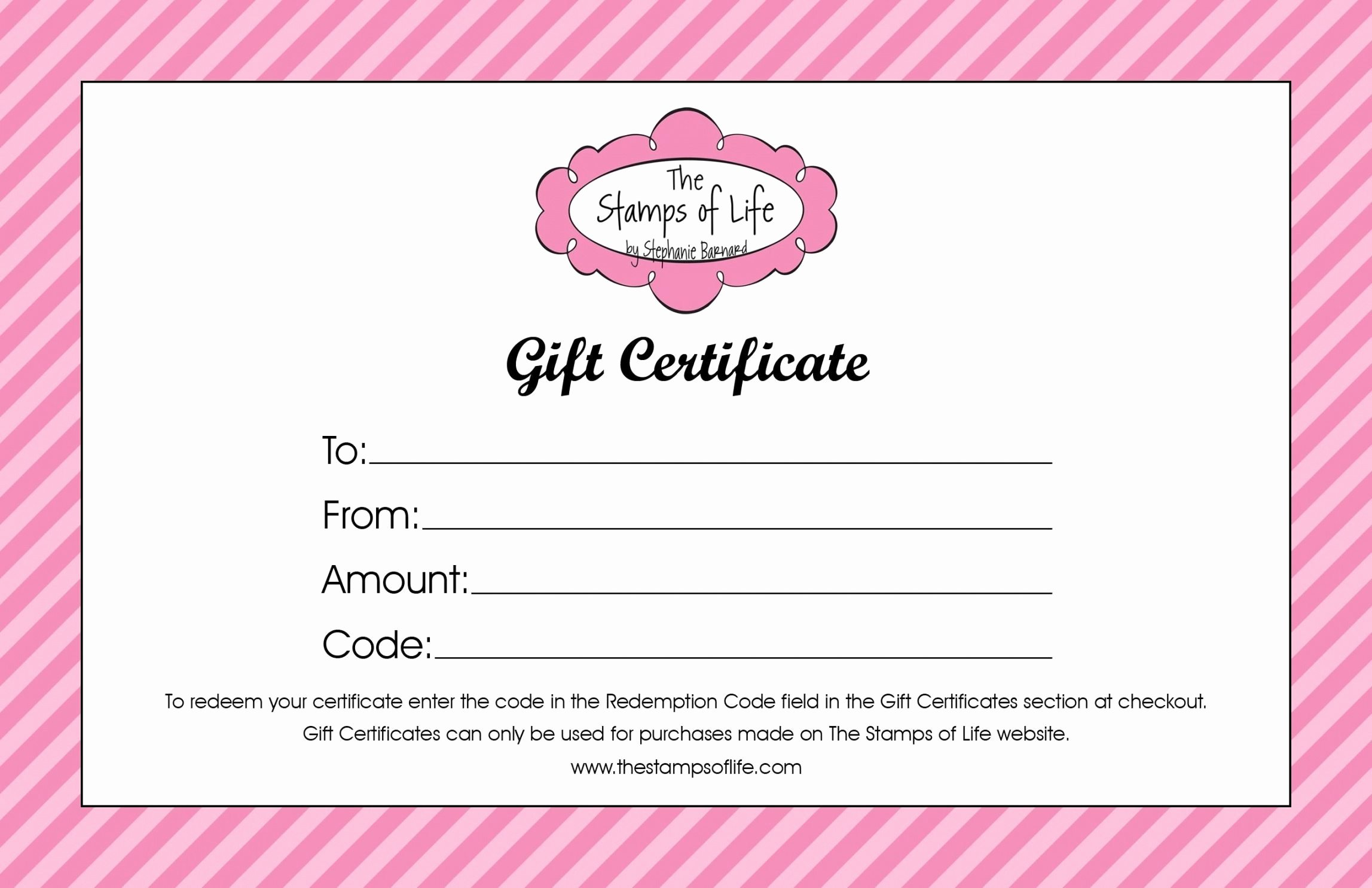 Salon Gift Certificate Templates Elegant Beauty Salon Gift Certificate Template