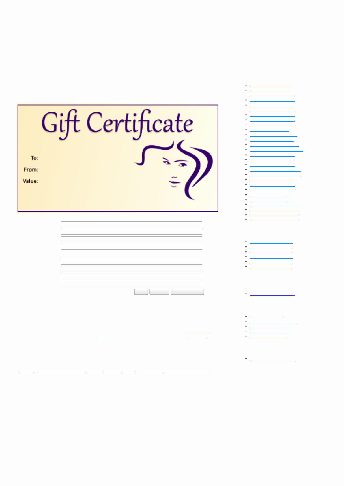 Salon Gift Certificate Templates Lovely Download Salon Gift Certificate Template for Free Tidytemplates