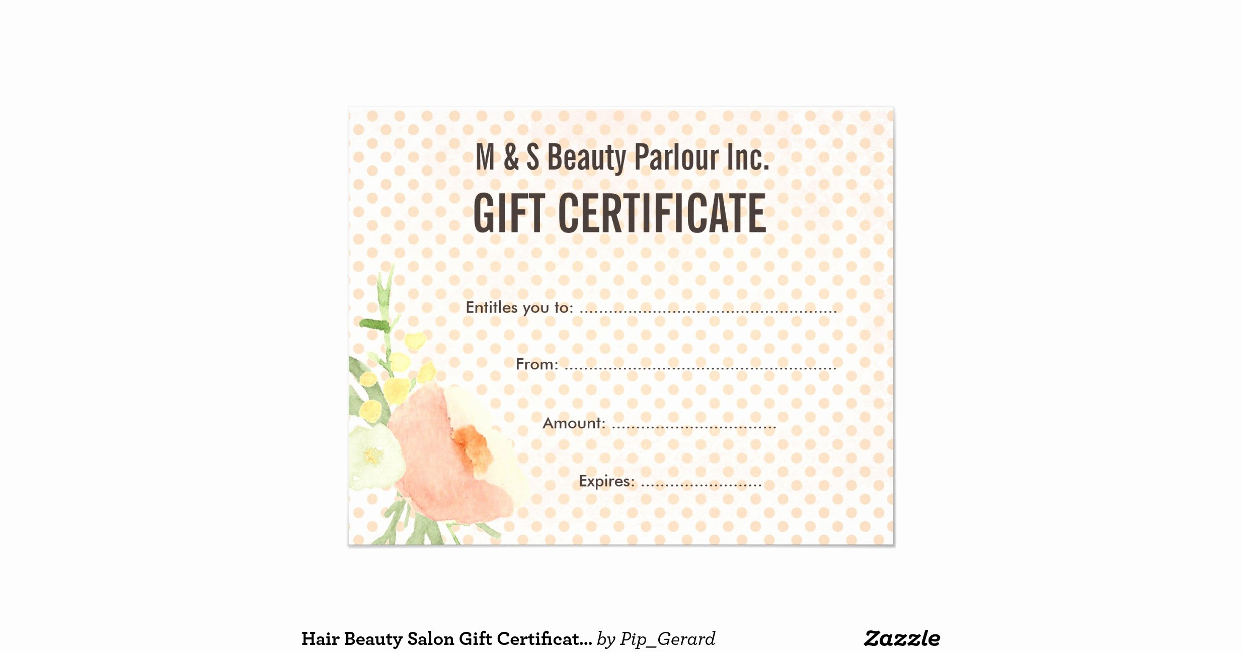Salon Gift Certificates Templates Elegant Hair Beauty Salon T Certificate Template Flyer R894e5f5a7d B E9bdbb0ef3 Vgkoy 8byvr