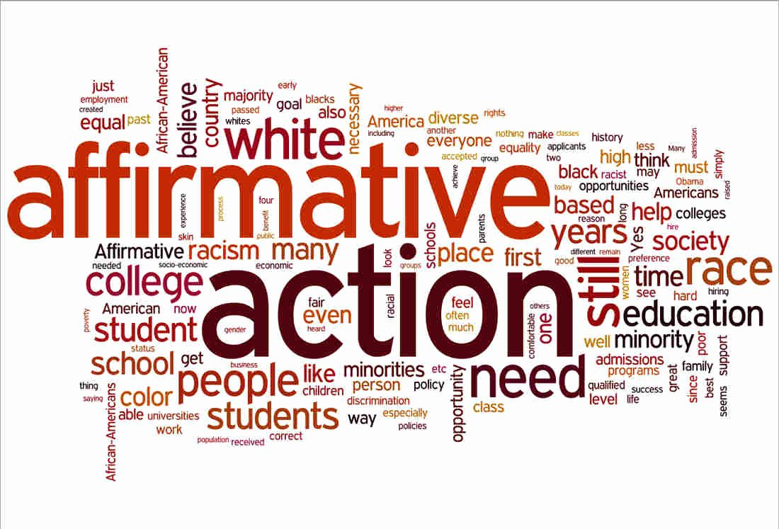 Sample Affirmative Action Plans Awesome Listeners Take Stock Affirmative Action Npr