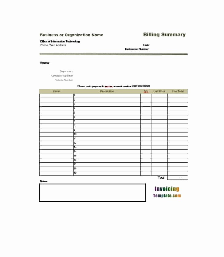 Sample attorney Billing Statement Beautiful 40 Billing Statement Templates [medical Legal Itemized More]