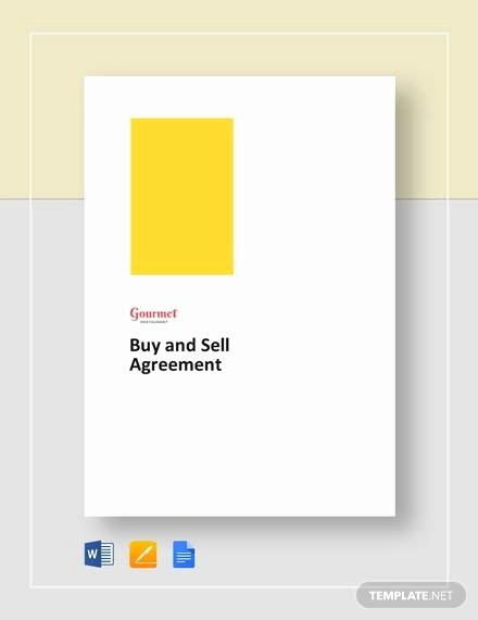 Sample Buy Sell Agreements Lovely Free 20 Sample Buy Sell Agreement Templates In Word