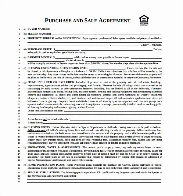 Sample Buy Sell Agreements Unique Free 20 Sample Buy Sell Agreement Templates In Word