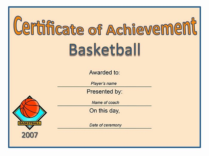Sample Certificate Of Achievement Awesome 30 Free Printable Certificate Templates to Download