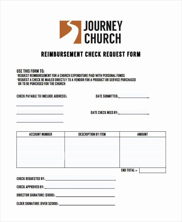 Sample Check Request form Luxury Free 22 Check Request forms