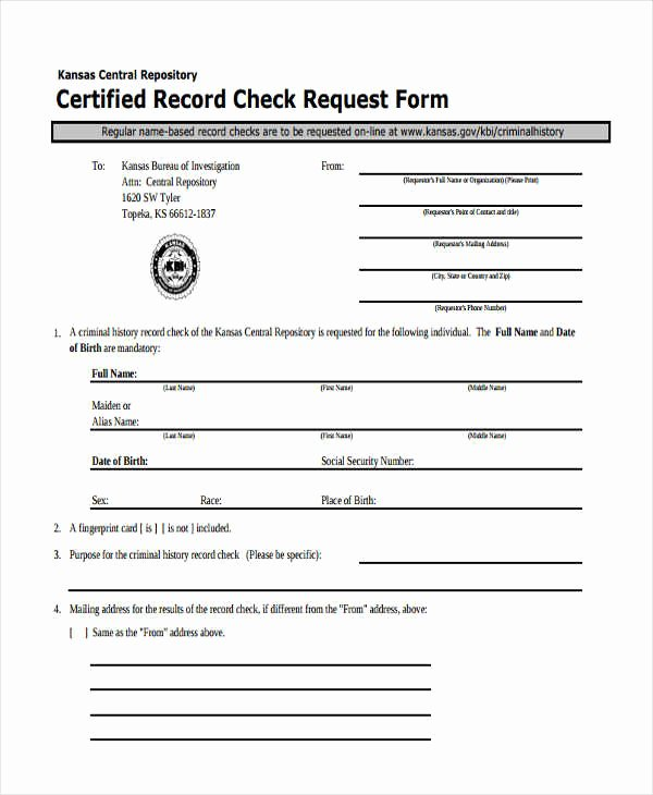Sample Check Request form Unique Free 29 Sample Check Request forms