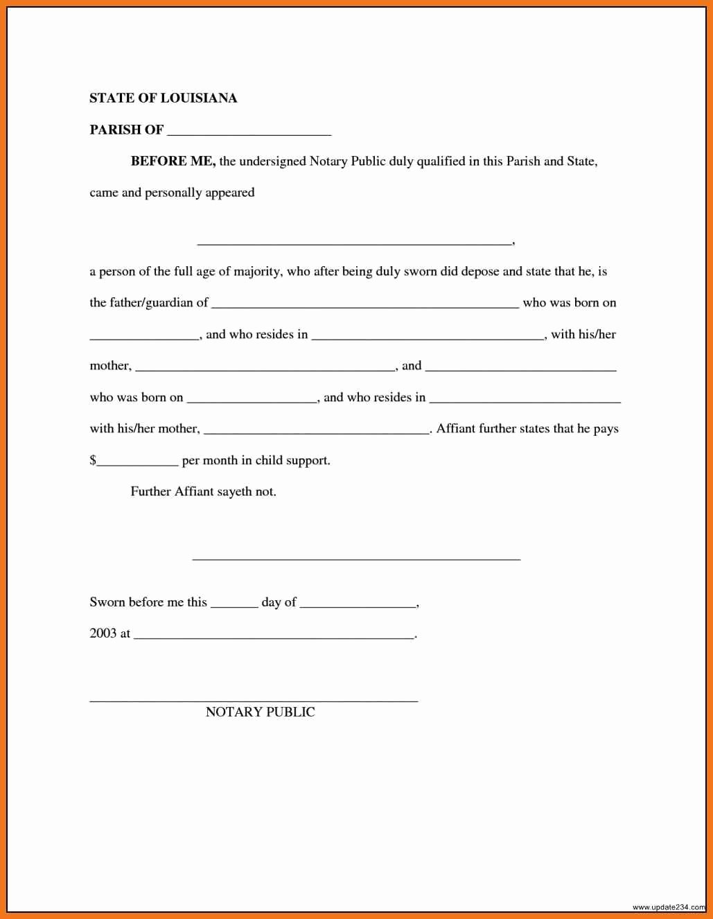 Sample Child Support Agreements Lovely 4 5 Child Support Agreement Letter