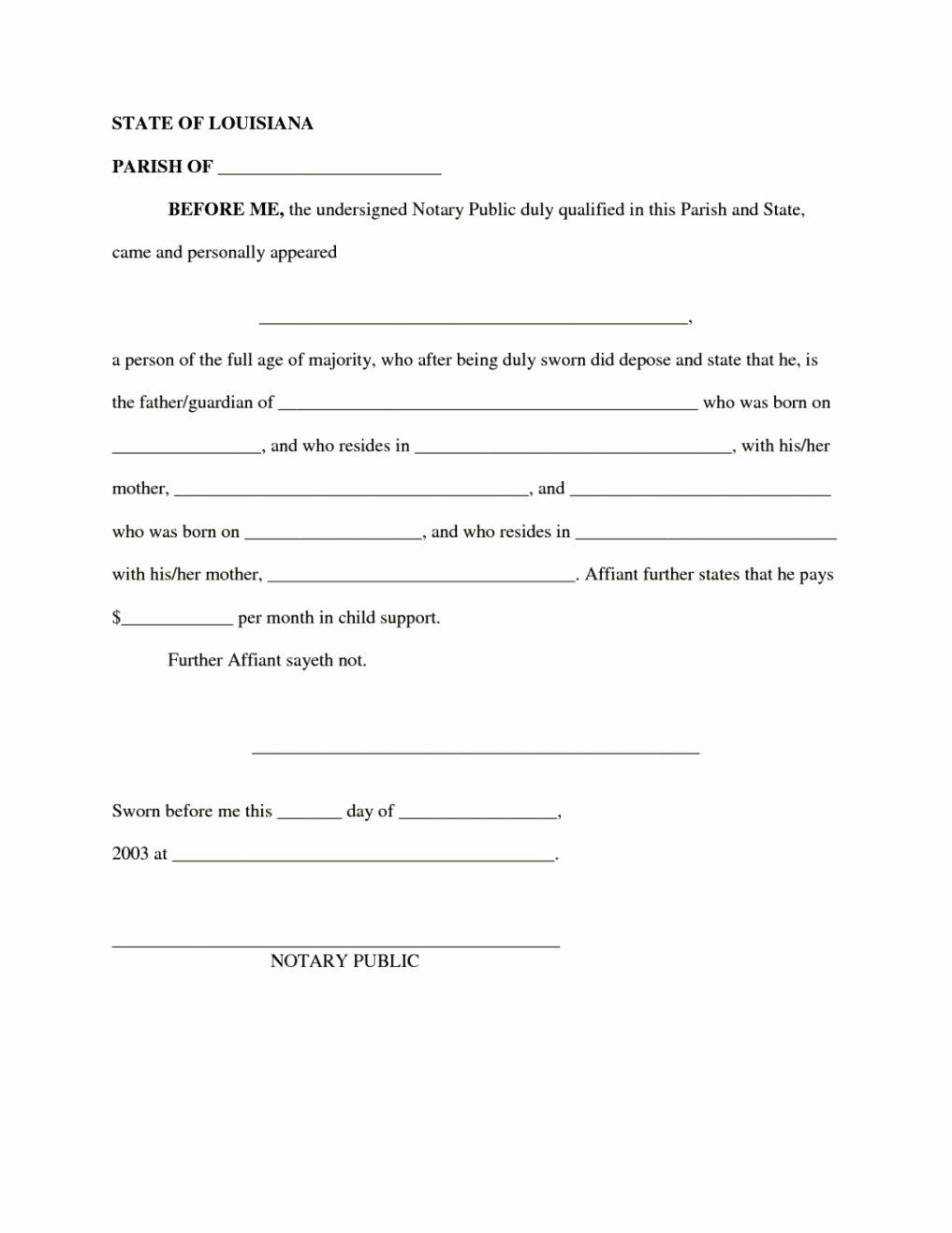 Sample Child Support Agreements New Binding Child Support Agreement Template Template