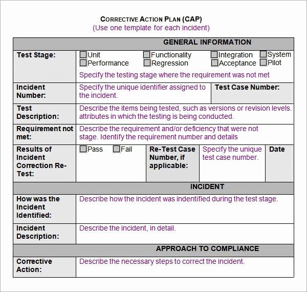Sample Corrective Action Plan Elegant Free 15 Action Plan Templates In Google Docs Ms Word Pages