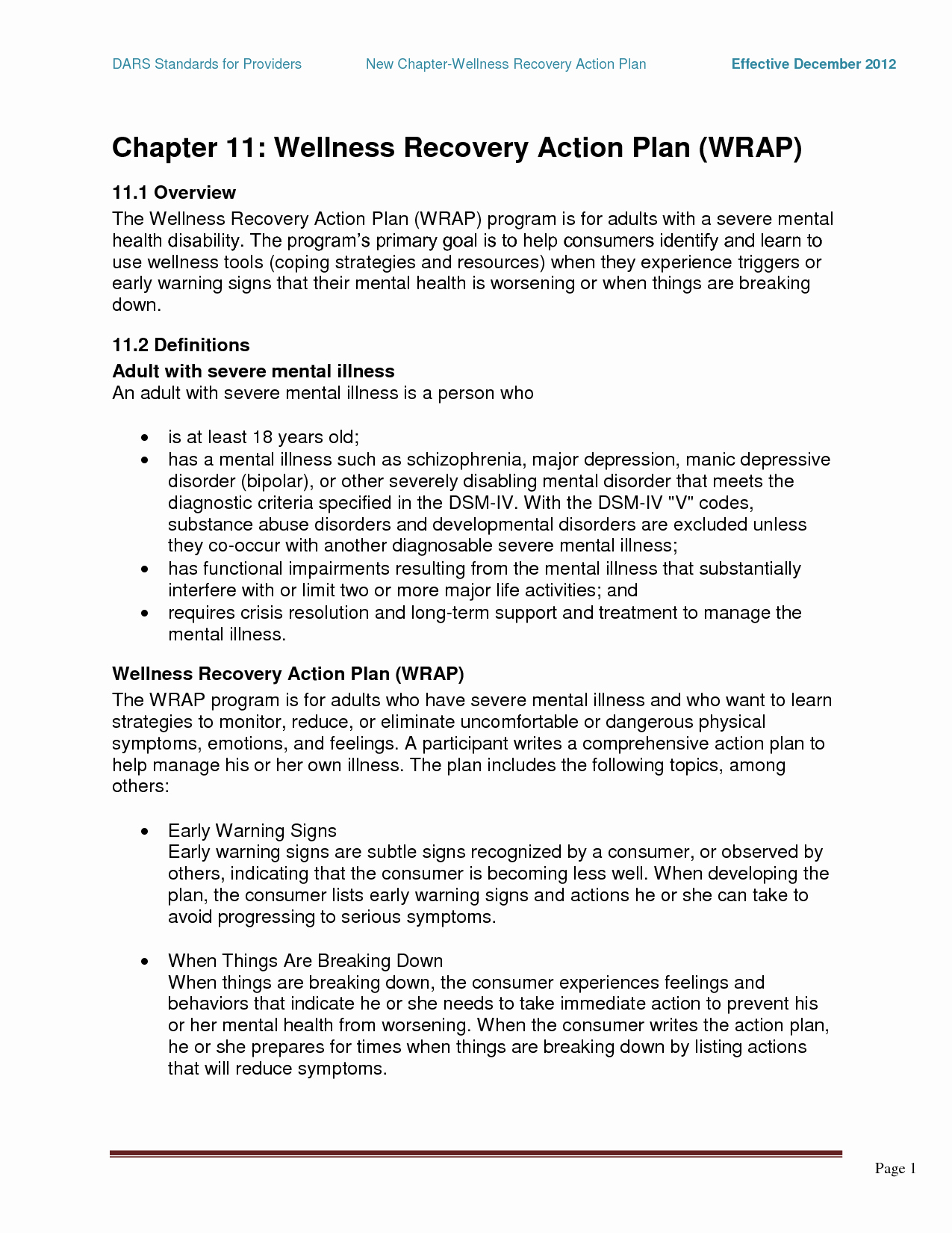 Sample Crisis Management Plan Unique Wrap Mental Health