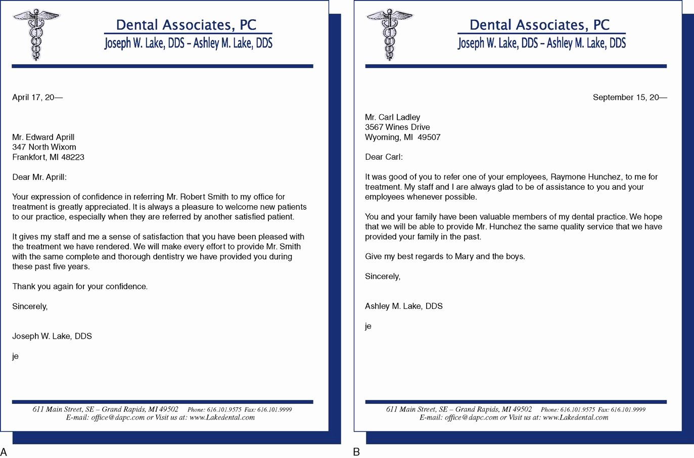 Sample Dental Letters to Patients Beautiful 9 Written Munications