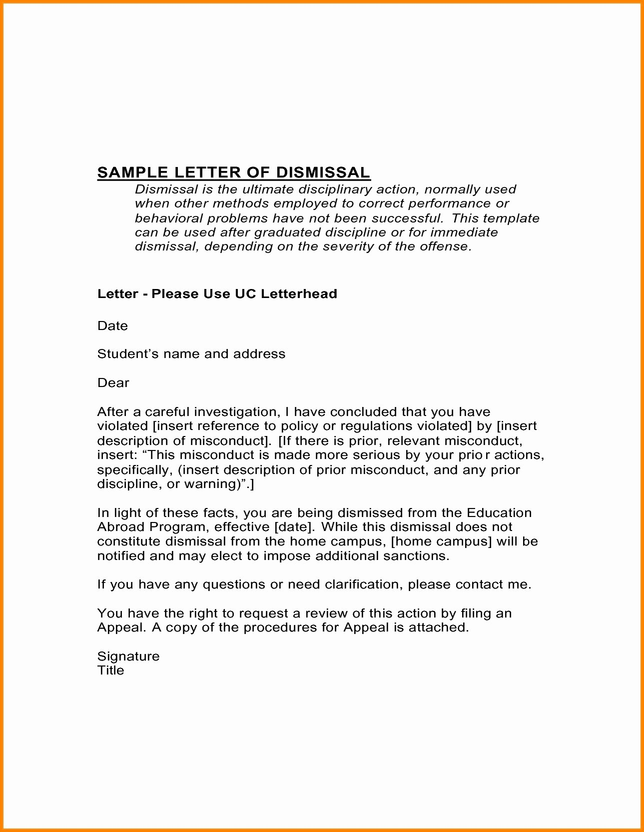 Sample Dental Letters to Patients Lovely Dental Patient Dismissal Letter Template Examples