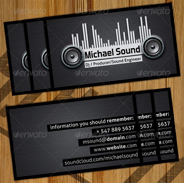 Sample Dj Business Cards Lovely 28 Dj Business Cards Templates Shop Ms Word Publisher Ai