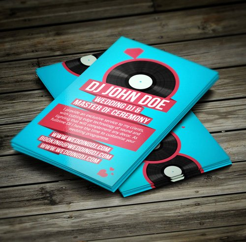 Sample Dj Business Cards Luxury Amazing Dj Business Cards Psd Templates Design