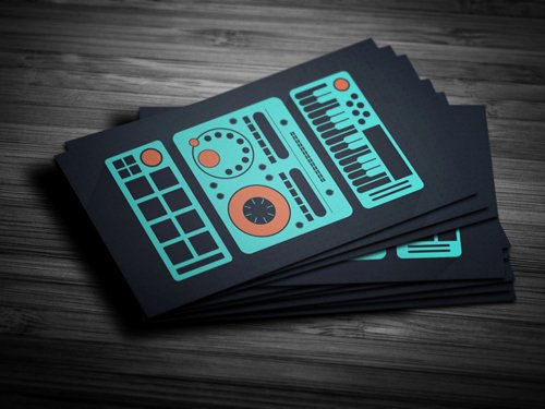 Sample Dj Business Cards Unique Amazing Dj Business Cards Psd Templates Design