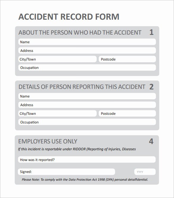 Sample Employee Incident Report Letter Unique Employee Incident Report Pdf