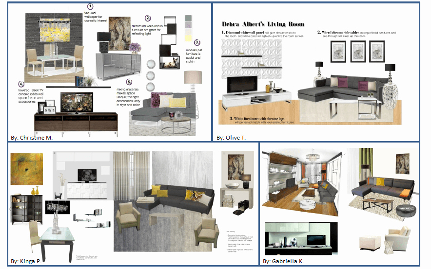 Sample Interior Design Proposal Luxury How Debra Saved $1 600 Her New Designer Living Room