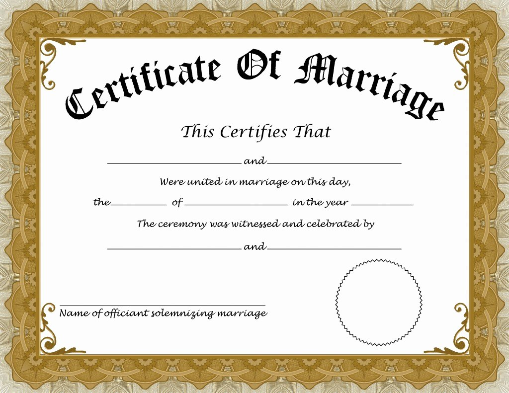 Sample Of Marriage Certificates Inspirational Language Blog Translation Times