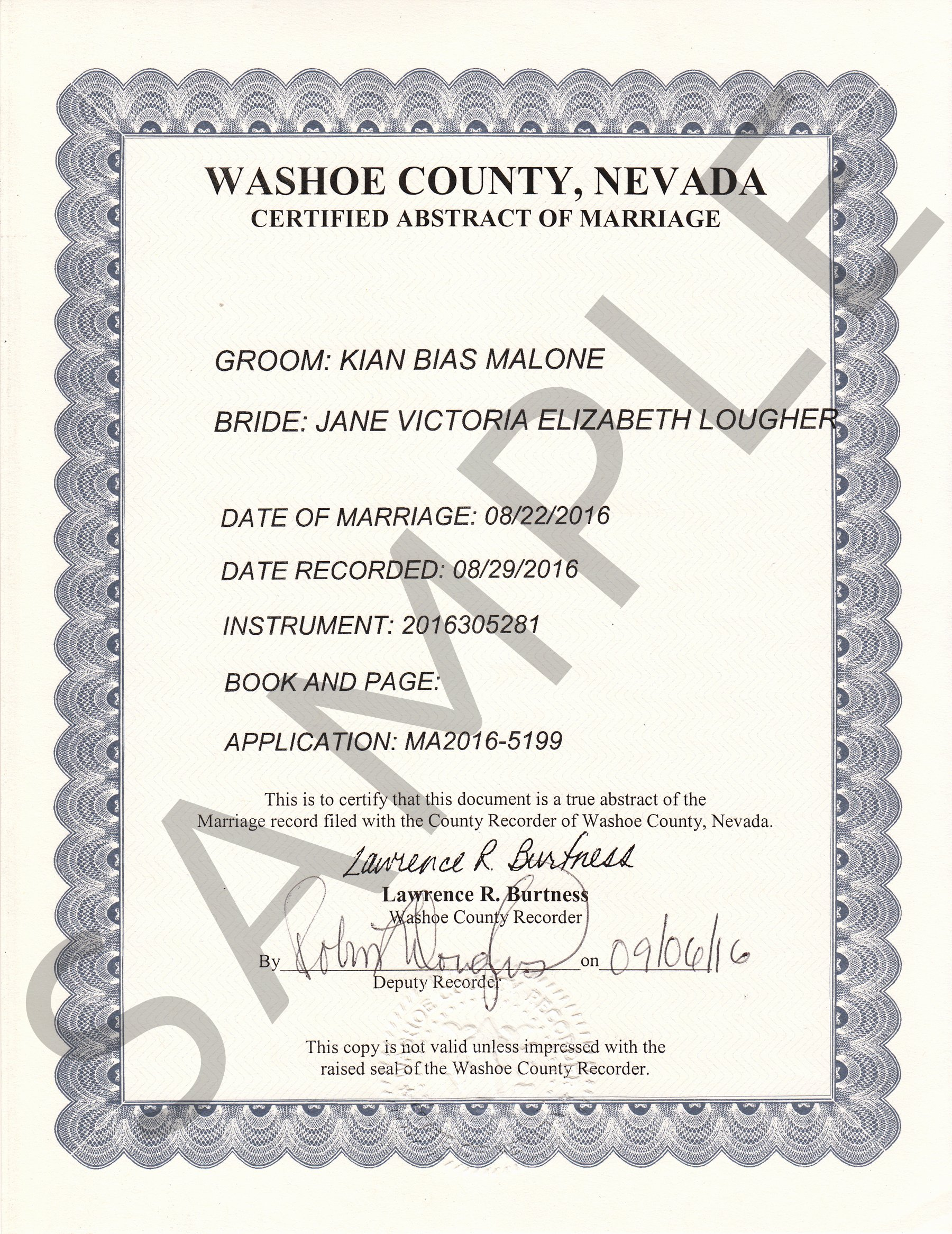 Sample Of Marriage Certificates Inspirational Sample Certificates