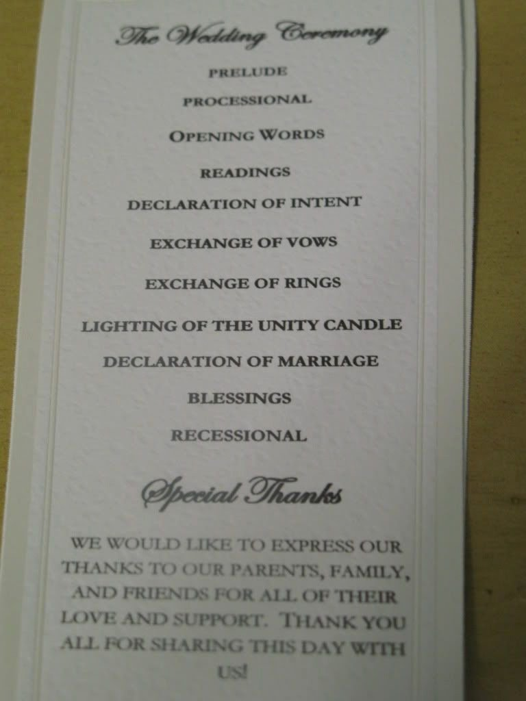 Sample Of Wedding Programme Fresh Wedding Programs Sample One Page