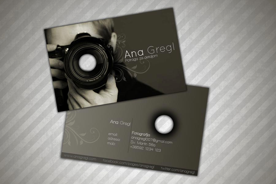 Sample Photography Business Cards Awesome top 25 Graphy Business Cards Examples From Around the Web