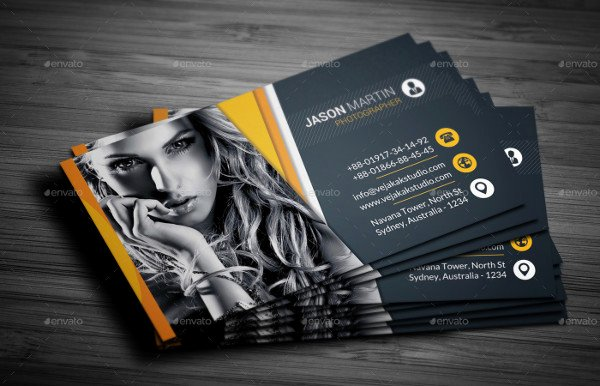 Sample Photography Business Cards Fresh 61 Sample Business Cards Psd Ai Indesign Vector Eps