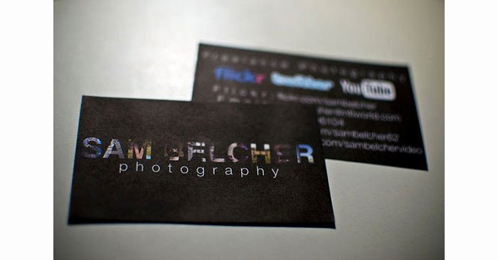 Sample Photography Business Cards Unique Creative Graphy Business Cards 31 Examples