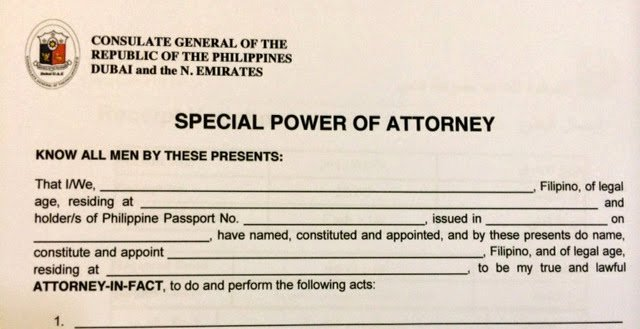 Sample Special Power Of attorney Best Of Anything Under the Sun How to Get An Nbi Clearance at the Philippine Consulate Dubai Uae