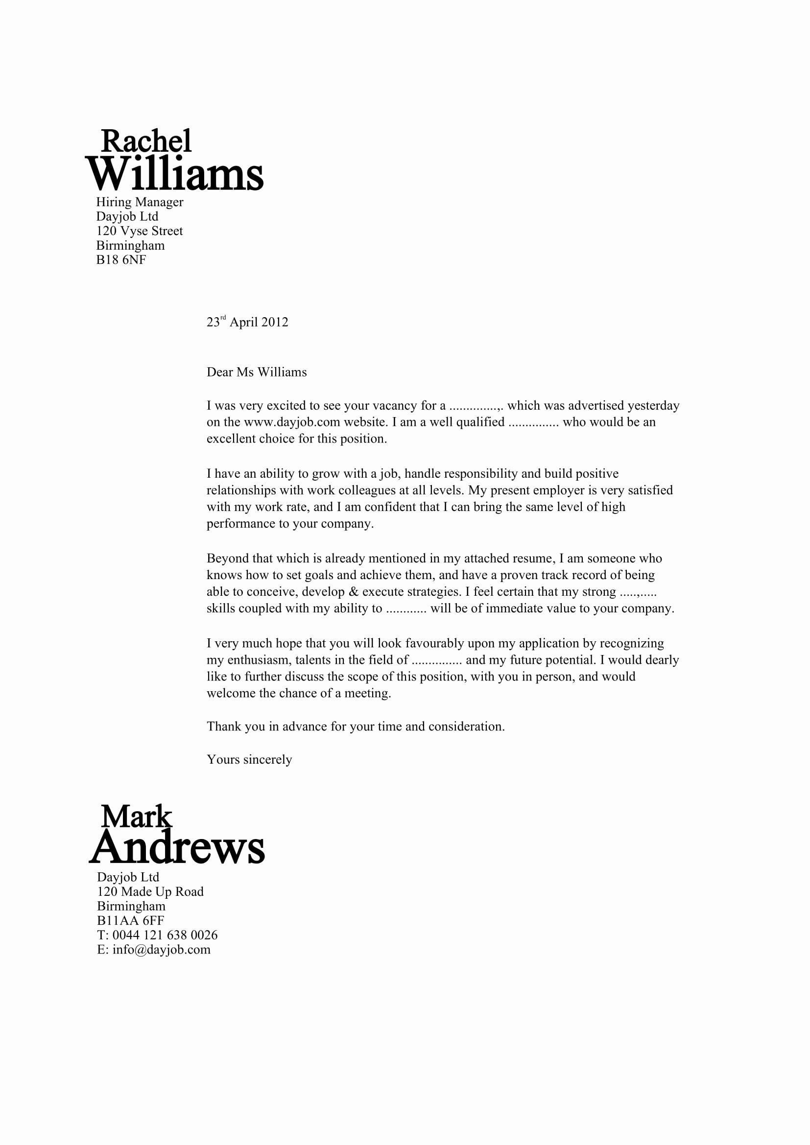 Sample Volunteer Recruitment Letter Elegant 32 Best Sample Cover Letter Examples for Job Applicants