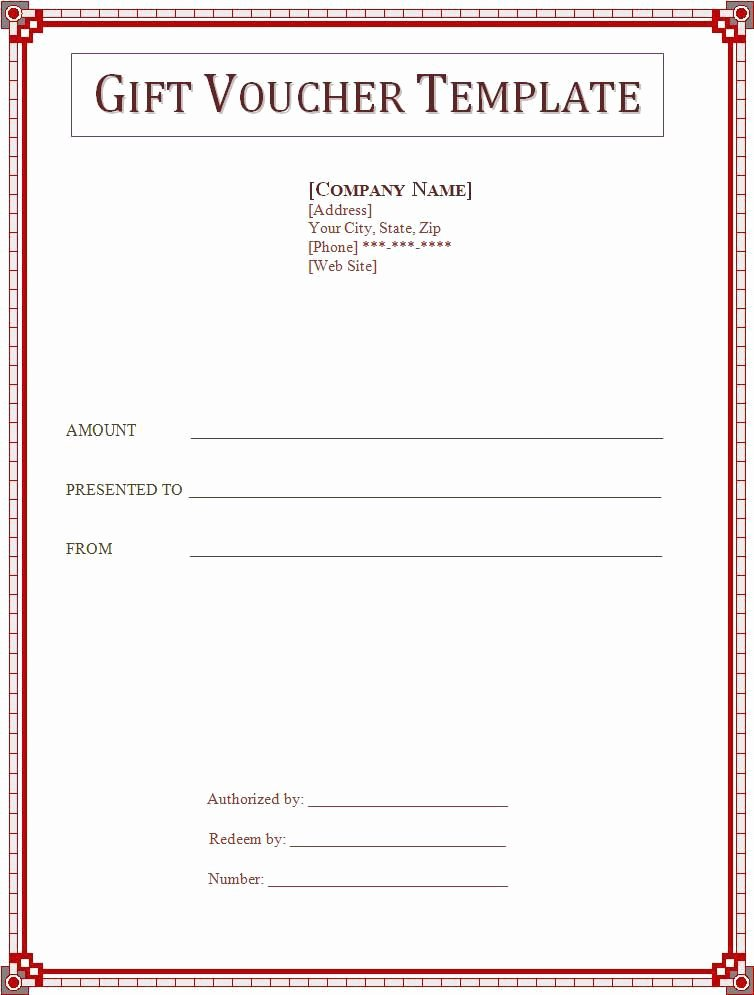 Samples Of Gift Certificate Awesome Gift Voucher Template Wordstemplates