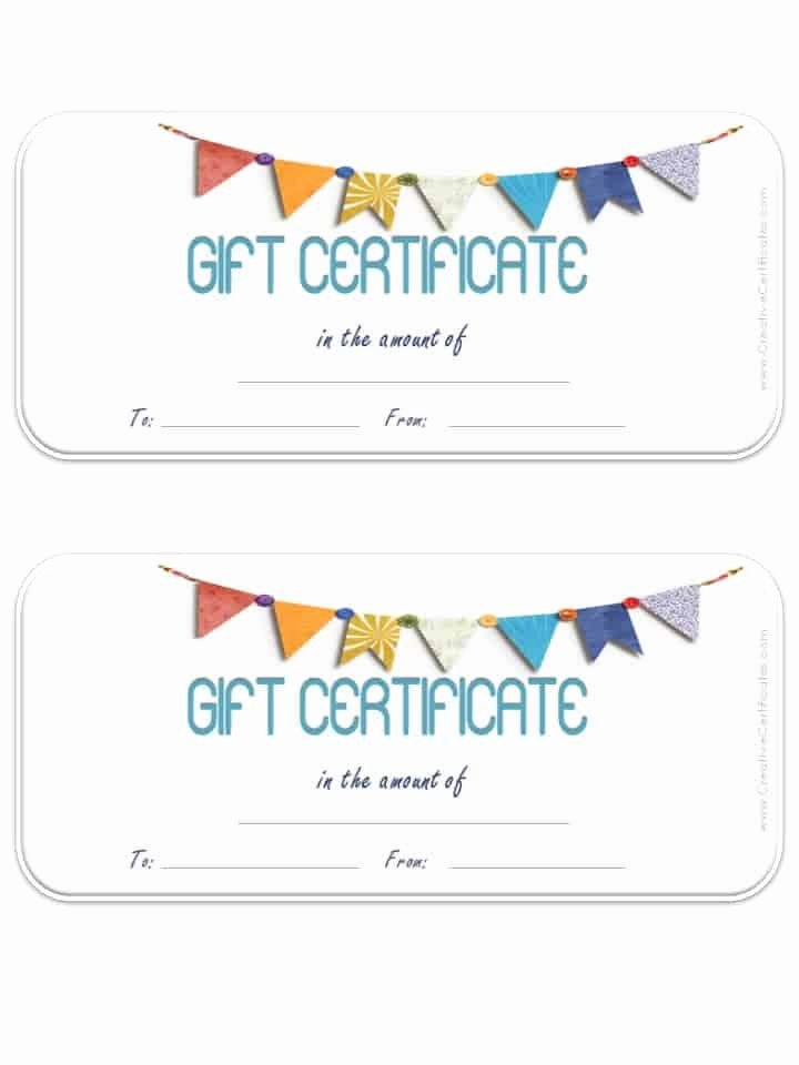 Samples Of Gift Certificate Inspirational Free Gift Certificate Template Customizable