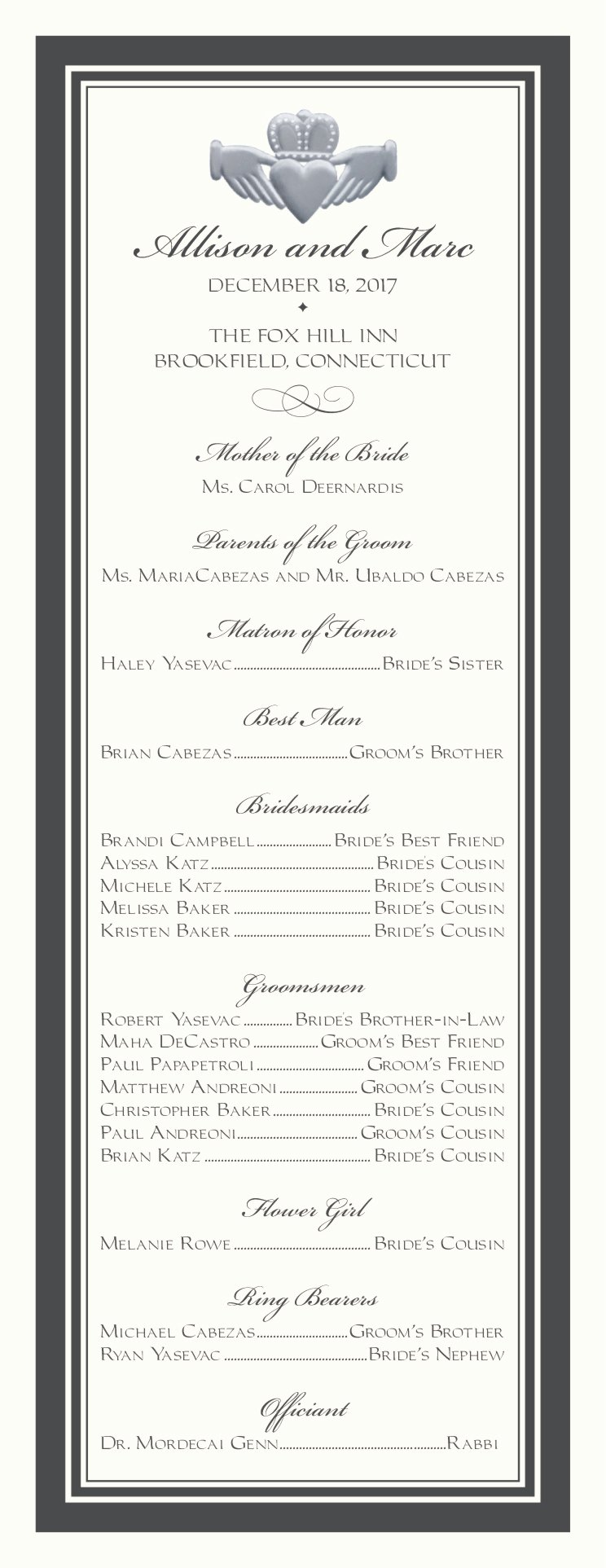 Samples Of Wedding Programs Best Of Wedding Programs Wedding Program Wording Program Samples Program Examples Wedding Program Templates