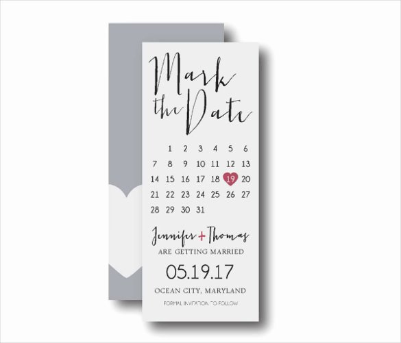 Save the Date Bookmarks Lovely Save the Date Bookmark Template 69 Free Psd Ai Eps Pdf format Download