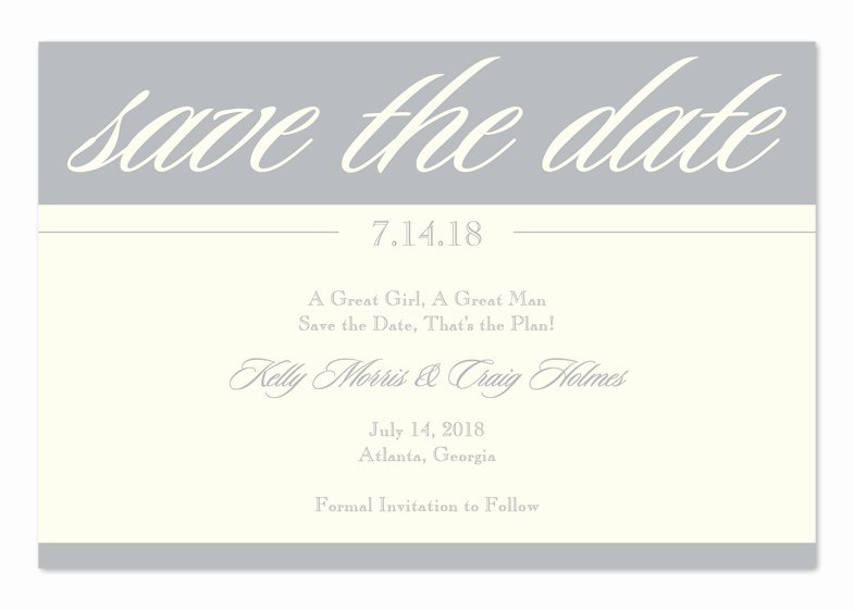 Save the Date Business event Beautiful Sterling Save the Date Save the Date Announcements by