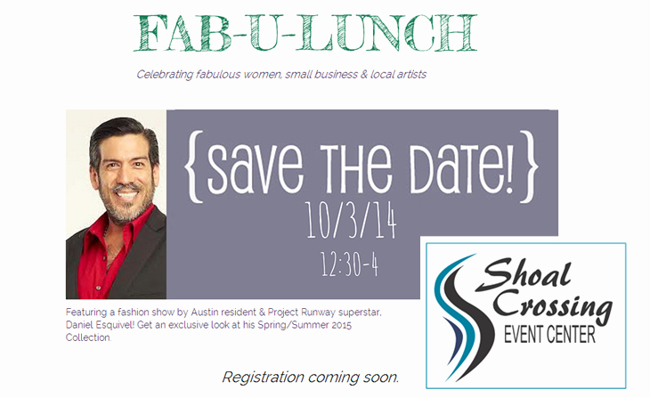 Save the Date Business event Best Of Project Runway Superstar Partners with Bigaustin In the