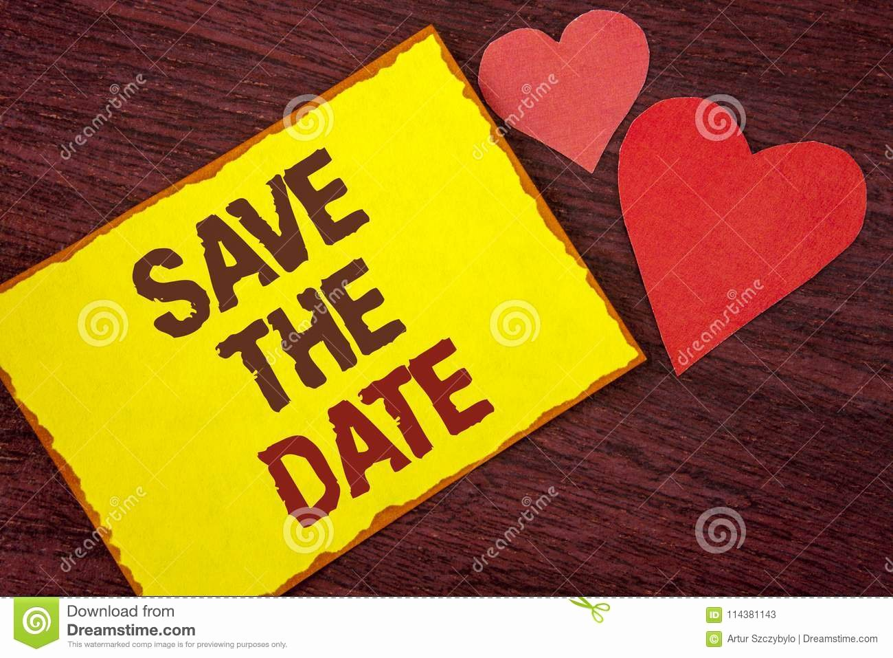 Save the Date Business event Inspirational Conceptual Hand Writing Showing Save the Date Business
