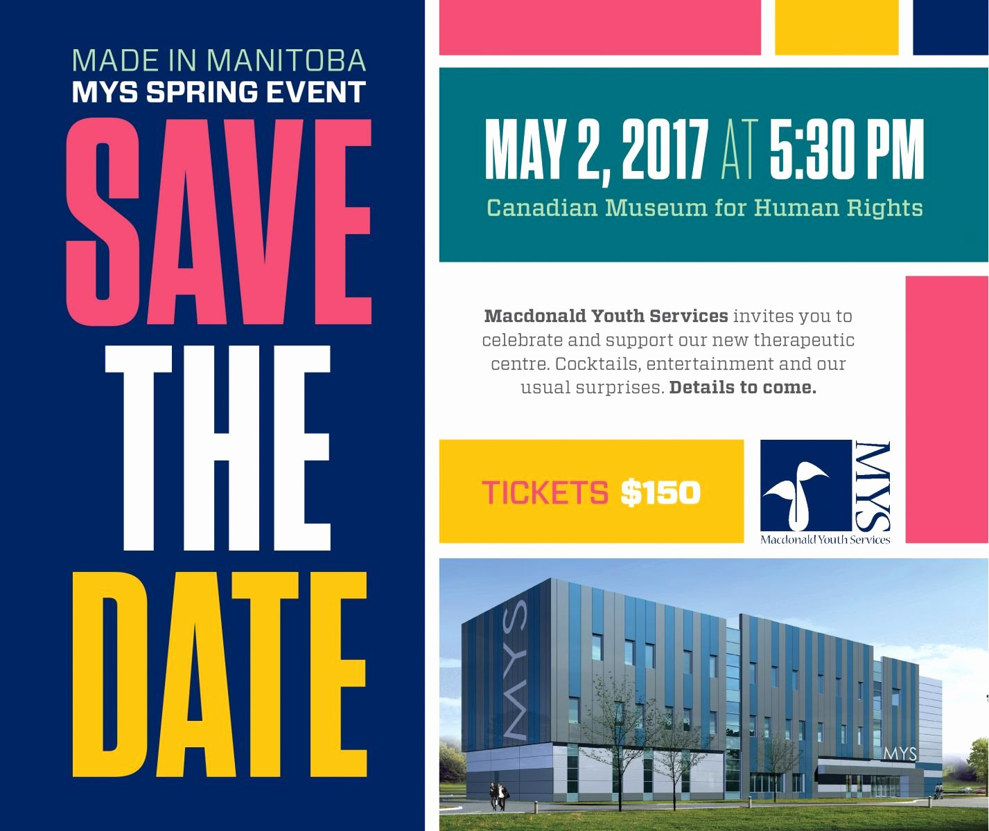 Save the Date Corporate event Best Of Save the Date Made In Manitoba Spring event