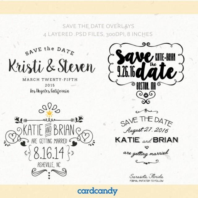 Save the Date Templates Photoshop Fresh Digital Save the Date Overlays Wedding Card Overlays Template Psd Free Save the Date