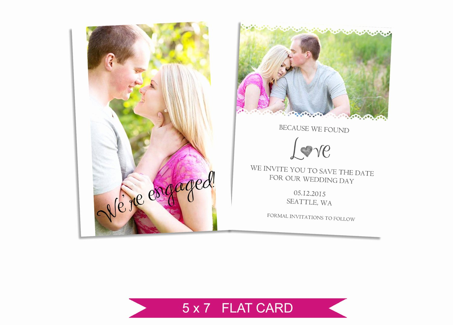 Save the Date Templates Photoshop Fresh Save the Date Card Shop Template Instant Download