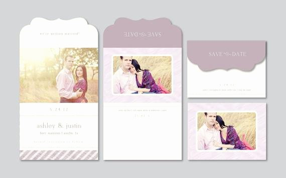 Save the Date Templates Photoshop Luxury Modern Save the Date Graphy Template by Designbybittersweet