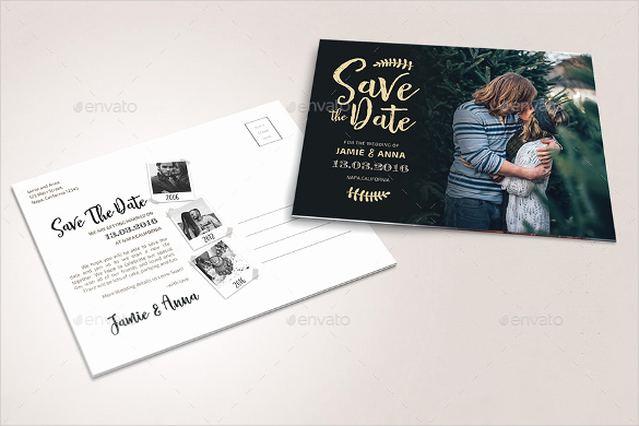 Save the Date Templates Photoshop New 22 Save the Date Postcard Templates – Free Sample Example format Download