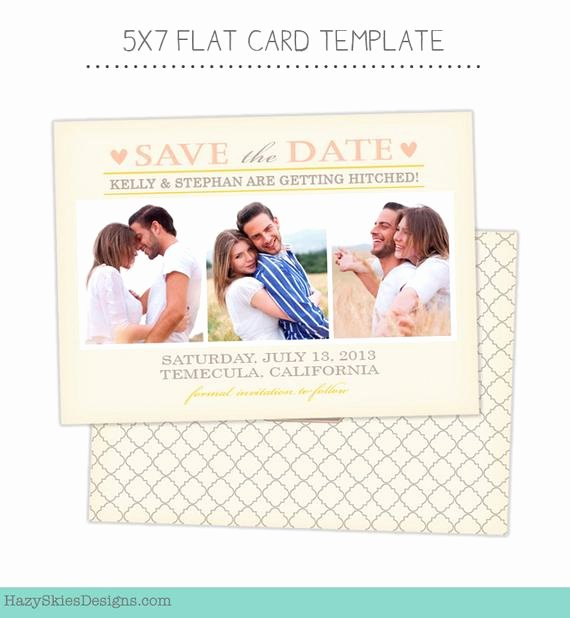 Save the Date Templates Photoshop New Items Similar to Save the Date Card Template for Graphers Shop Templates for