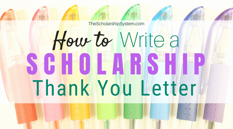 Scholarship Award Letter Templates Luxury How to Write A Scholarship Thank You Letter
